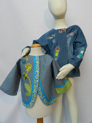 Possibility Patterns: Children's Jacket 1-4-U times 2