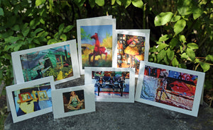 NestingCards - Whimsical Impressions by Peg Owens