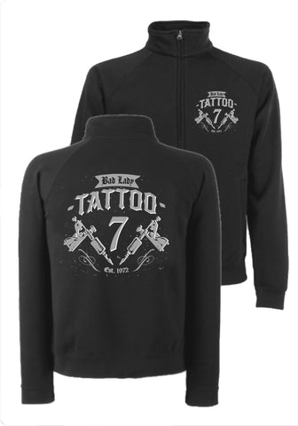 SWEATSHIRT-JACKE 'TATTOO'