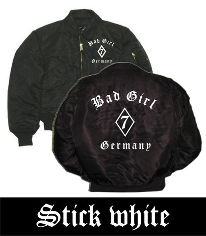 CWU-JACKE' BAD GIRL GERMANY'
