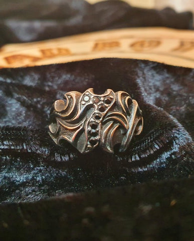 "RING 'SEVEN ""TRIBAL'"
