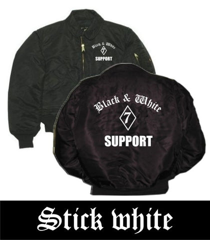 CWU-JACKE 'BLACK + WHITE'