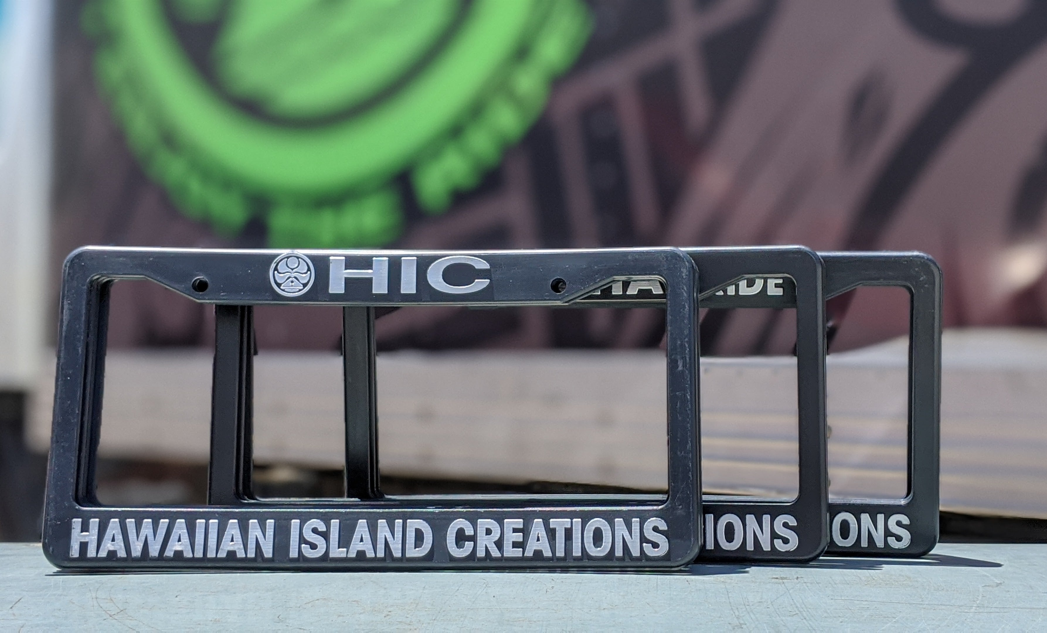 HIC License Plate Frames