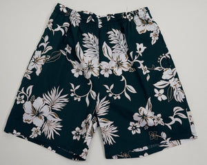 """Hibiscus Grid"" Cruizin Shorts"