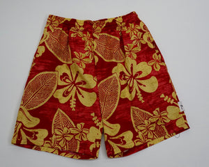 """Floral Paiean Leaf"" Cruizin Shorts"