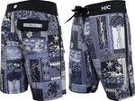 Silver Channel Boardshorts