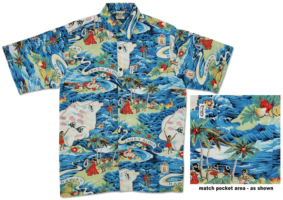 Land of Aloha - Aloha Shirt