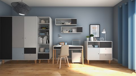 Concept Young Room, Blue 16m2