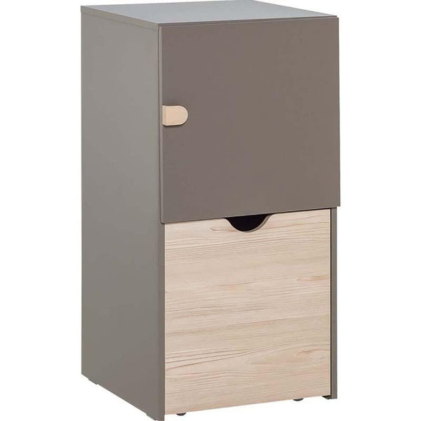 Tall cabinet - Taupe - Voxfurniture.ae