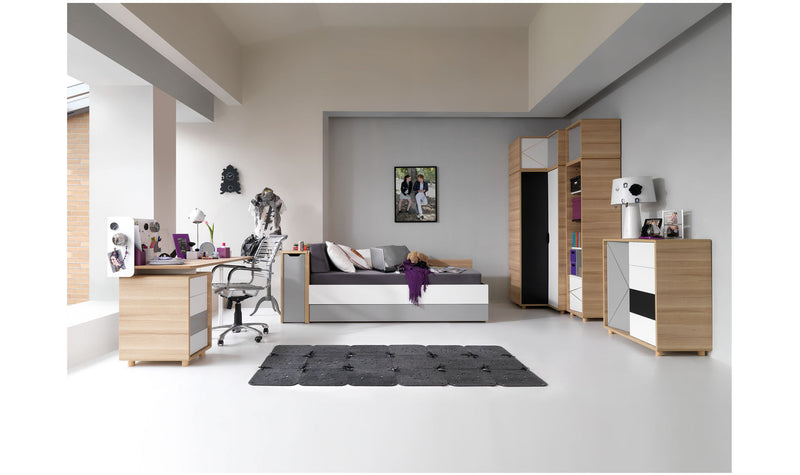 Top extra storage-2 Door wardrobe