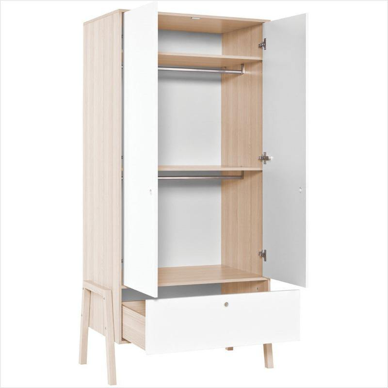 2 Door wardrobe - Voxfurniture.ae