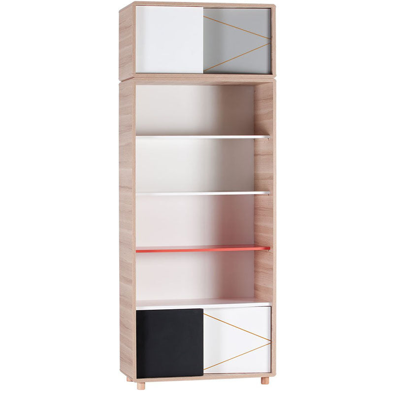 Top Extra storage-Wide Bookcase