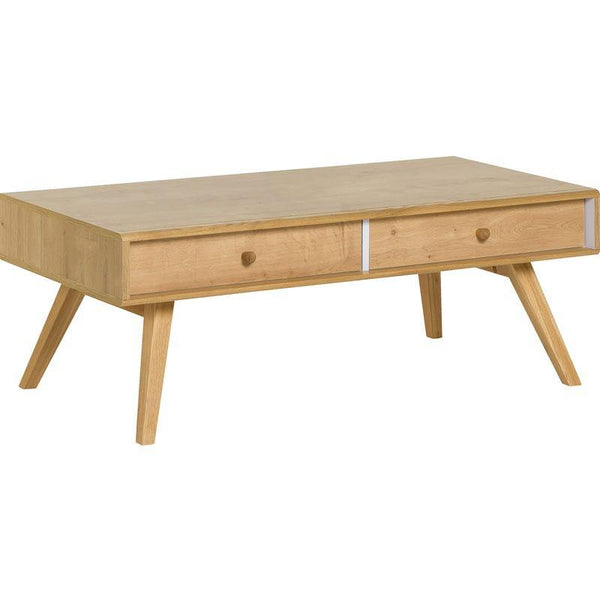 Coffee table- Oak - Voxfurniture.ae