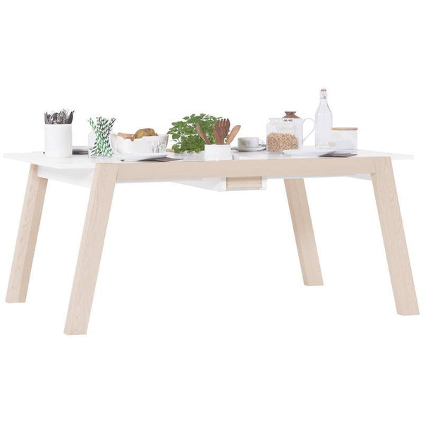 Foldable dining table (4 to 6 seater) - Voxfurniture.ae