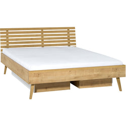 Double bed 180x200 with 2 drawers