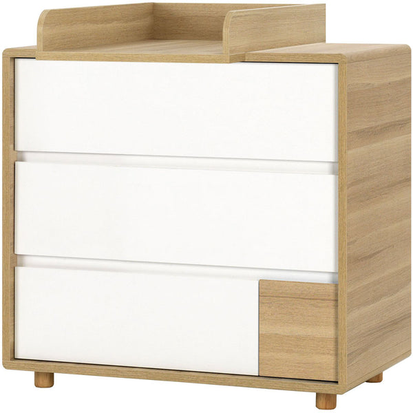 Dresser with changer