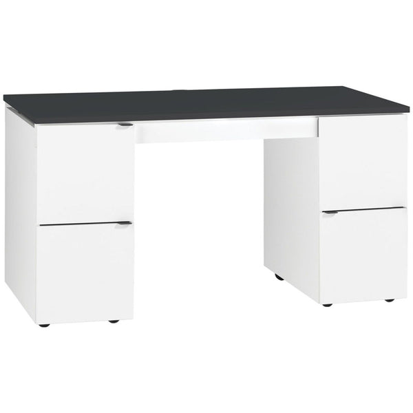 Innovative transformer desk - black top