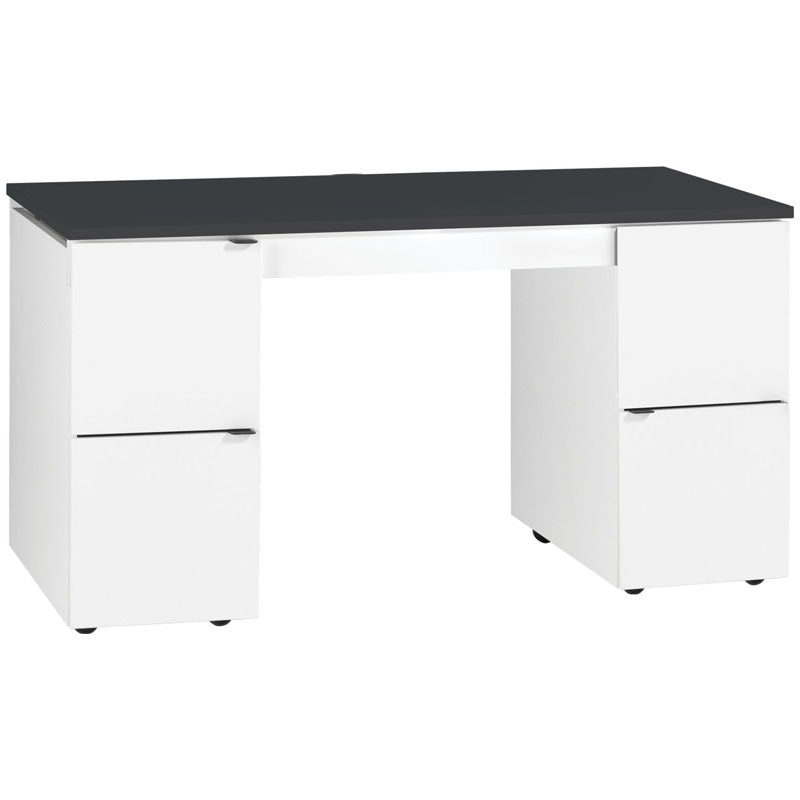 Young User Innovative transformer desk - black top