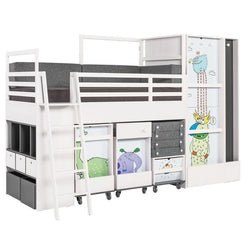 Multibed Nest for Boy's room - Voxfurniture.ae