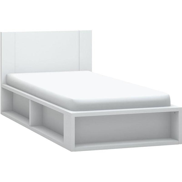Single bed 120x200 with storage