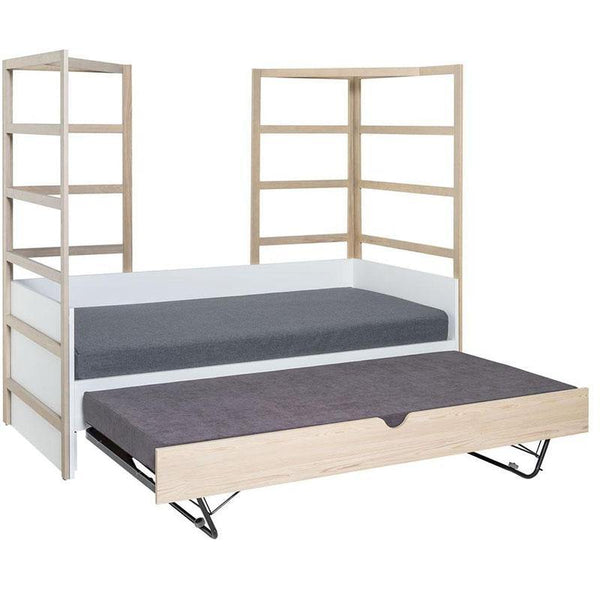 Day-bed with bottom bed