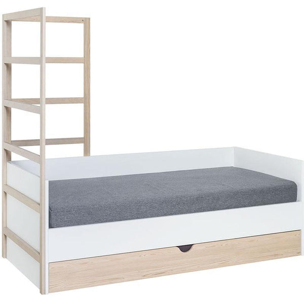Day-bed with bottom drawer
