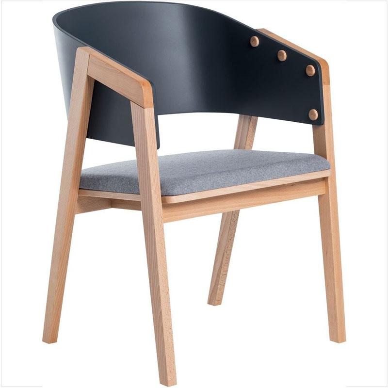 UNI chair - Anthracite - Voxfurniture.ae
