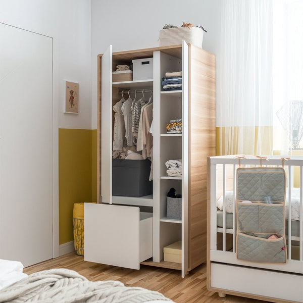 2-Door Wardrobe - Evolve Baby Vox - Voxfurniture.ae