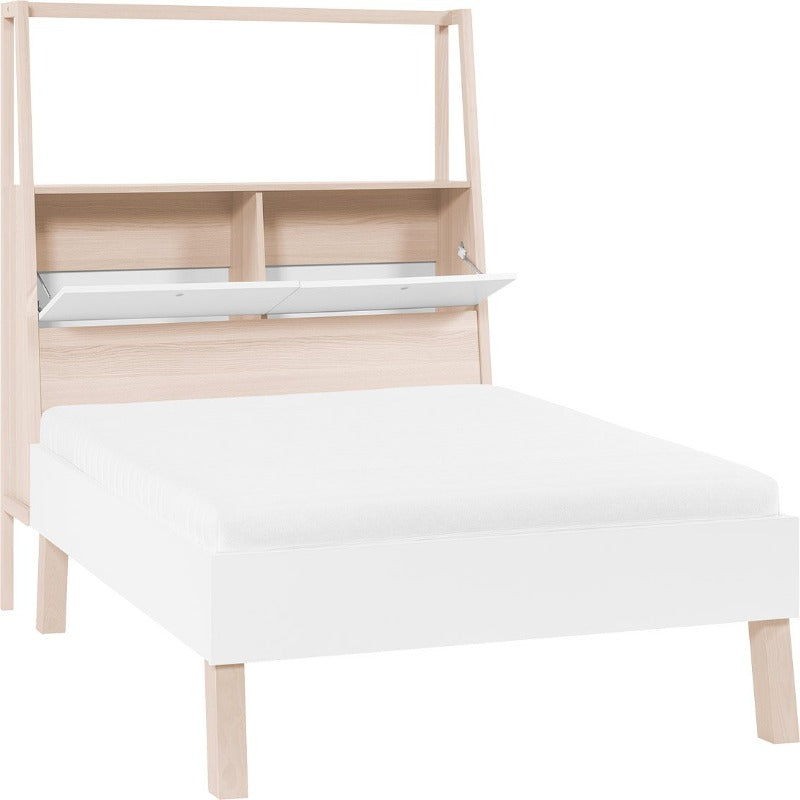 Double Bed 160 x 200, 180 x 200 with storage headboard (King & Queen Sizes) - Spot Home Vox - Voxfurniture.ae
