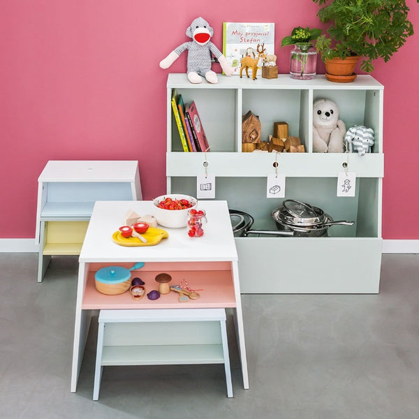 Tuli bookcase white