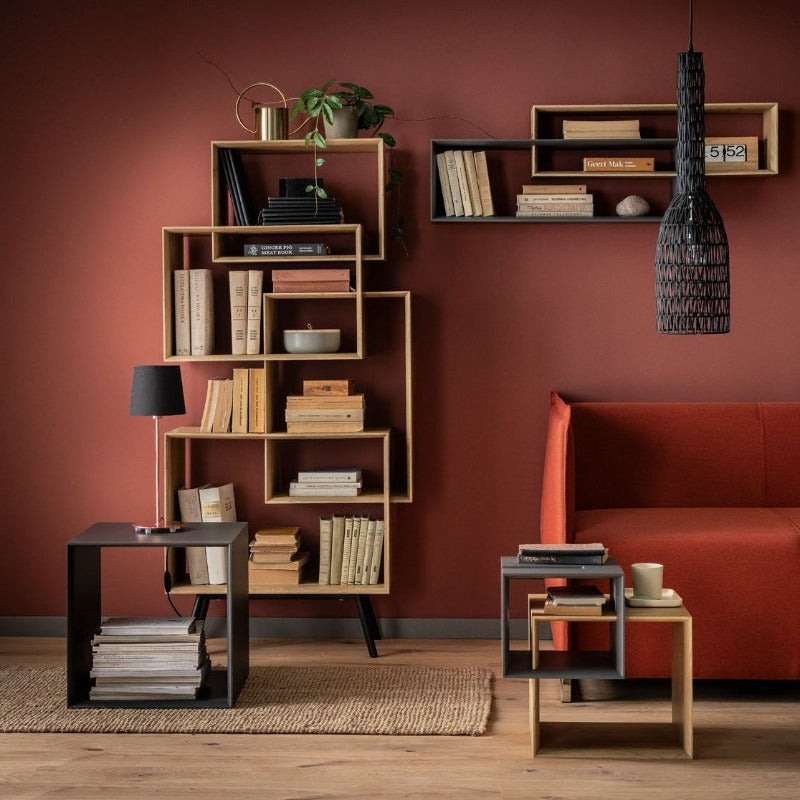 High bookcase Ribbon Home Vox Voxfurniture.ae
