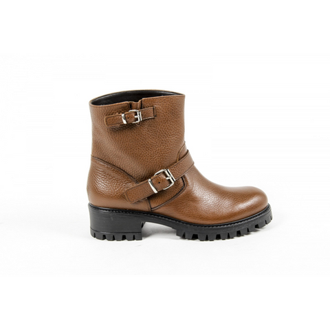 V 1969 Italia Womens Short Boot B1441 CERVO CUOIO