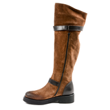 Andrew Charles Womens High Boot Brown ALANIS