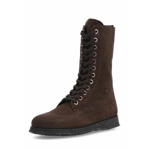 Hogan Womens High Boot Dark Brown HXW00I0937066QLS800