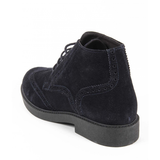 V 1969 Italia Mens Ankle Boot V2660 CAMOSCIO NAVY