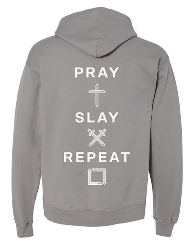 Pray Slay Repeat Oversized Hoodie