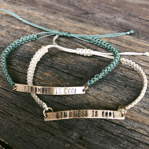 KINDNESS IS COOL BRACELET