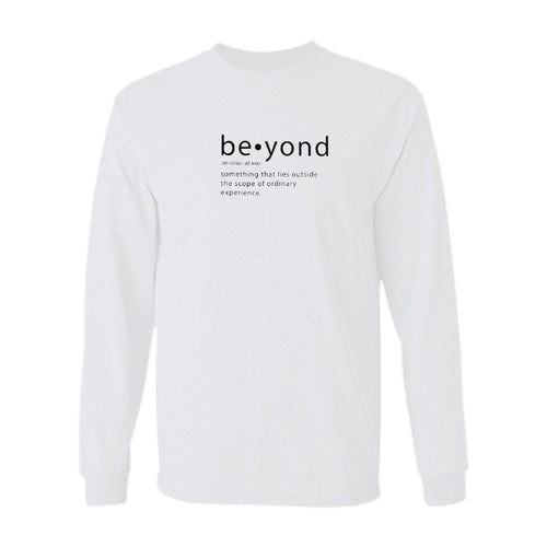 Beyond Definition L/S - White