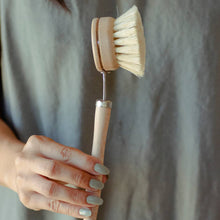 Load image into Gallery viewer, Eco Friendly Long Handle Dish Brush