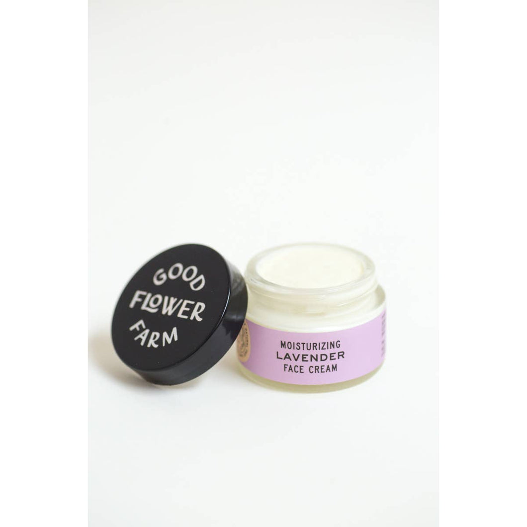 organic lavender face cream good flower farm