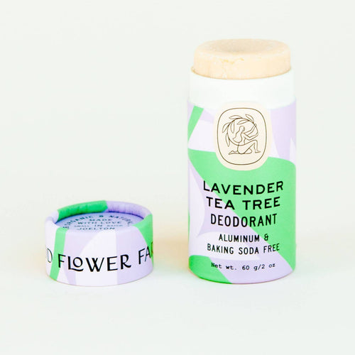 organic biodegradable deodorant stick good flower farm
