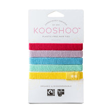 Load image into Gallery viewer, organic plastic free kooshoo hair ties