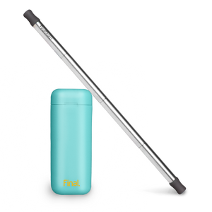 stainless steel reusable straw compact