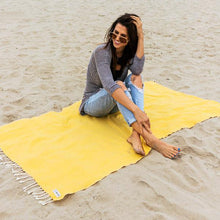 Load image into Gallery viewer, turkish cotton beach travel towel