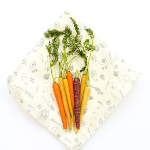 reusable beeswax food wraps large