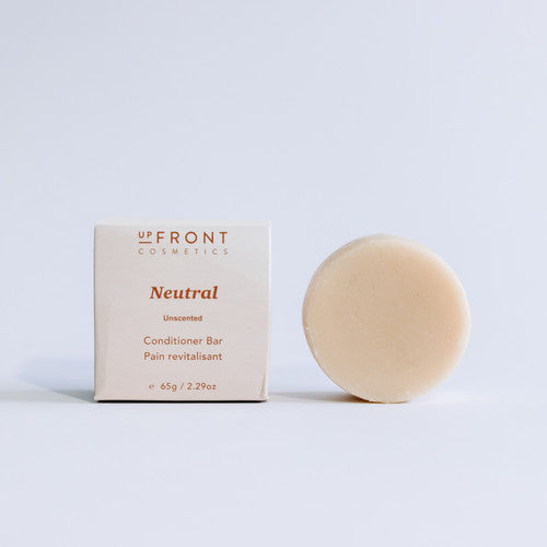 unscented plastic free conditioner bar