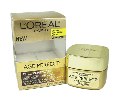 L'Oreal Age Perfect Cell Renewal Day Cream Moisturizer