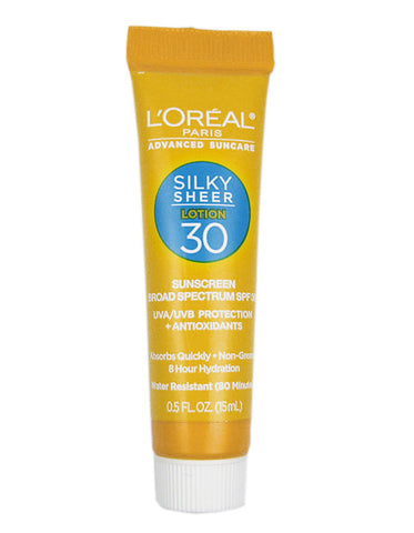 L'Oreal Advanced SuncareSilky Sheer Lotion 30