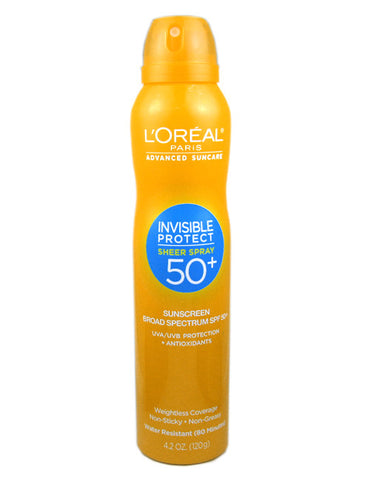 Sheer Spray 50+