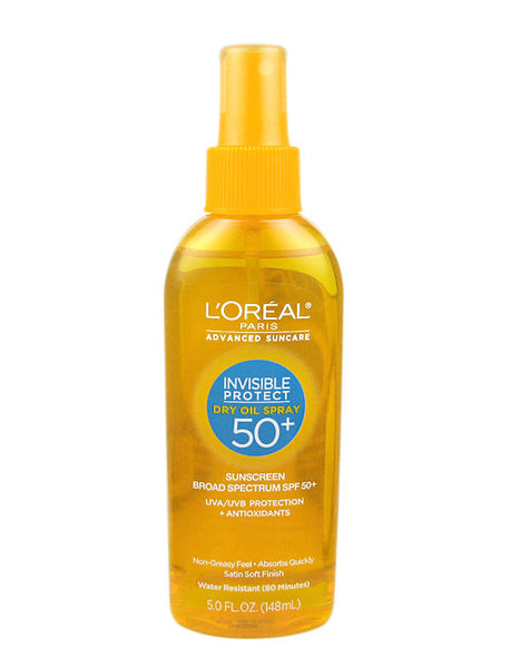 L'Oreal Advanced Suncare Invisible Protect Dry Oil Spray 50+
